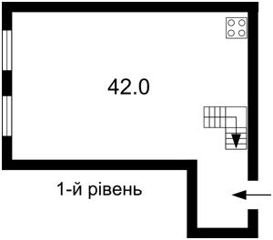 Квартира Городецкого Архитектора, 9, Киев, Z-686625 - Фото2