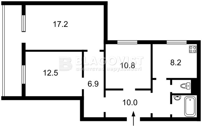 Квартира Z-1337144, Клавдиевская, 23/15, Киев - Фото 3