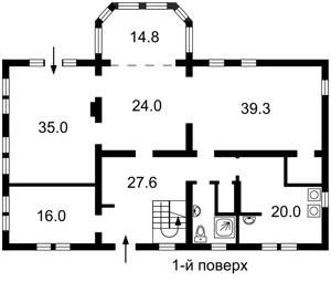 Будинок Козин (Конча-Заспа), M-24309 - Фото2