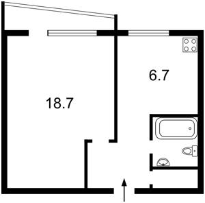 Квартира Володимирська, 89, Київ, X-8364 - Фото2