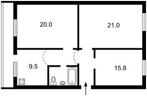 Квартира Автозаводська, 27в, Київ, C-99725 - Фото2