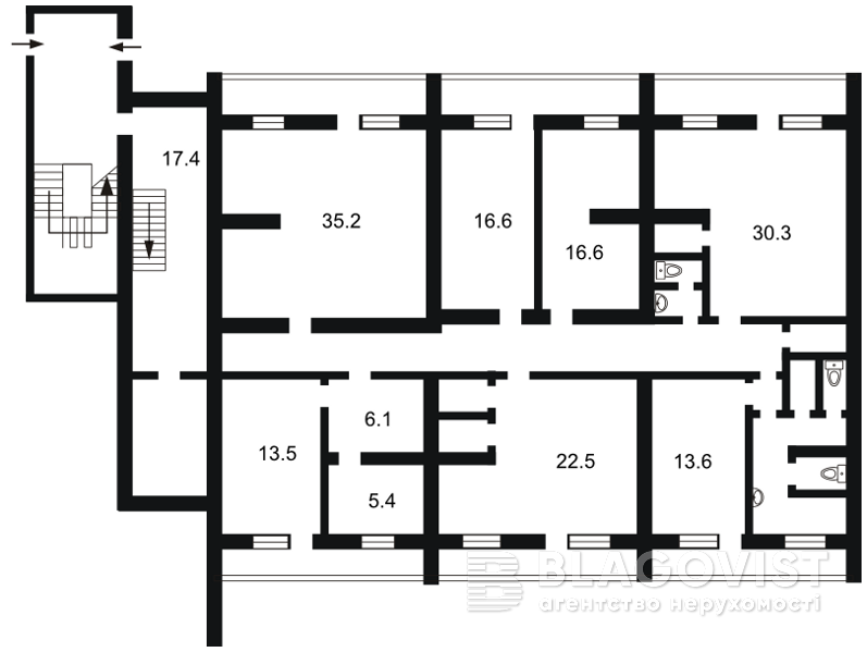 Нежитлове приміщення, H-31708, Рокоссовського Маршала просп., Київ - Фото 3