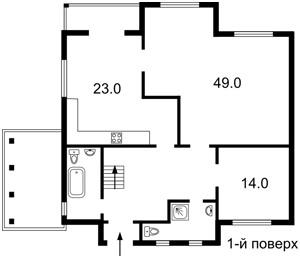 Дом Новые Безрадичи, F-30981 - Фото 1