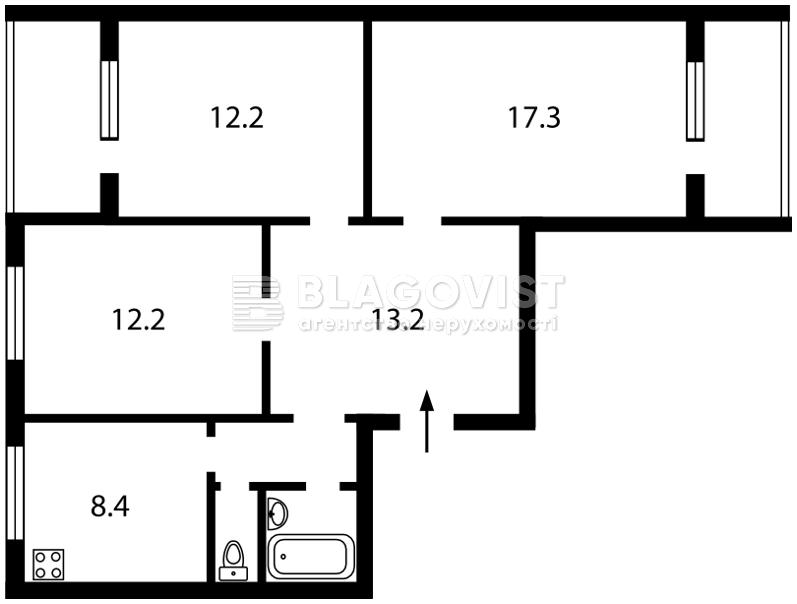 Квартира Q-479, Харківське шосе, 146, Київ - Фото 3