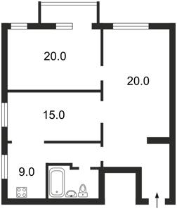 Квартира Z-588555, Мазепы Ивана (Январского Восстания), 9, Киев - Фото 2
