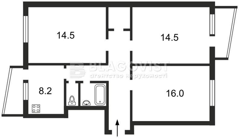 Квартира N-6540, Челябінська, 19, Київ - Фото 4