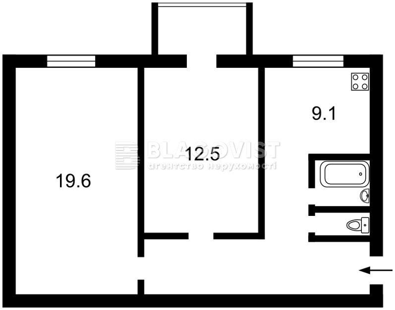 Квартира H-25835, Бассейная, 7, Киев - Фото 3