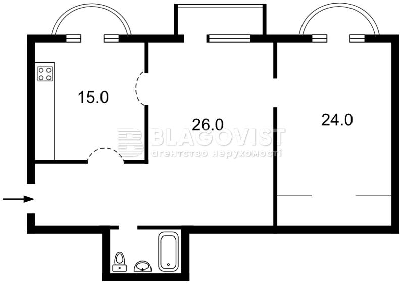 Квартира C-63686, Лютеранская, 6, Киев - Фото 2