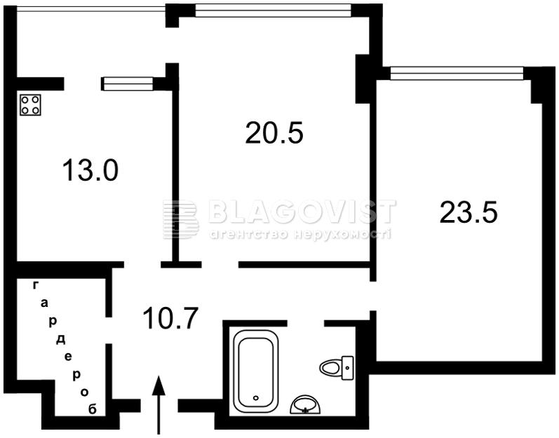 Квартира F-26846, Драгомирова Михаила, 5, Киев - Фото 5