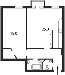 Квартира Мазепи Івана (Січневого Повстання), 9, Київ, B-76869 - Фото2