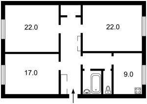 Квартира Крещатик, 25, Киев, J-12777 - Фото2