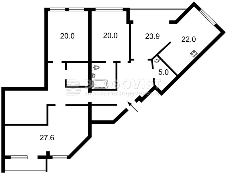 Квартира P-12814, Зверинецкая, 47, Киев - Фото 5