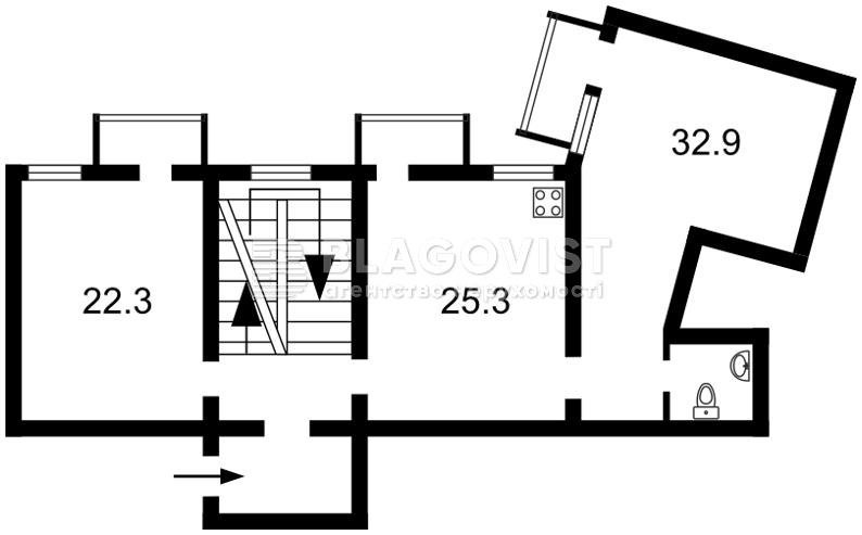 Квартира C-90447, Ольгинская, 2/1, Киев - Фото 4