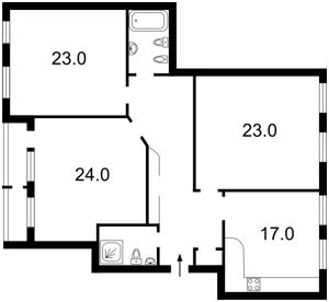 Квартира Панаса Мирного, 12, Киев, Z-900114 - Фото2