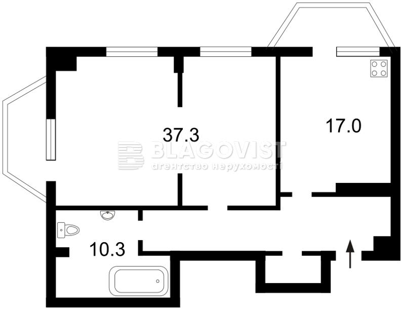 Квартира Z-905708, Дьяченко, 20, Киев - Фото 4