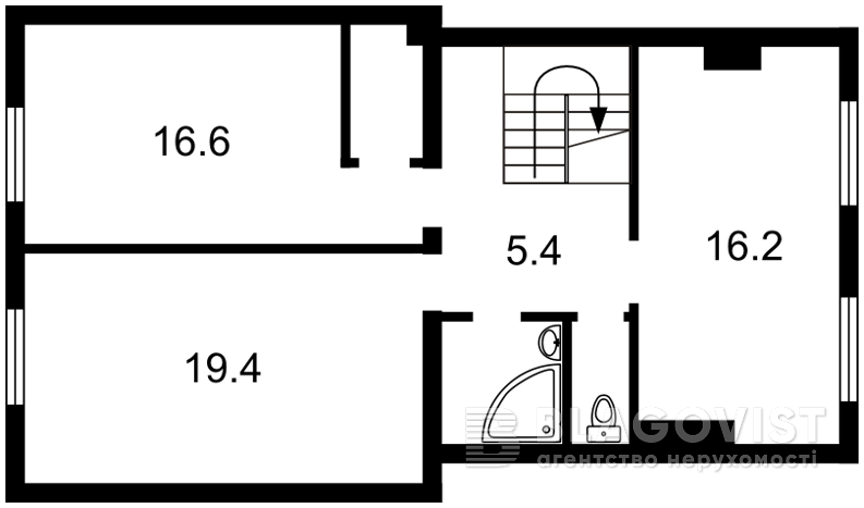 Квартира Q-313, Пушкина, 16б, Гостомель - Фото 3