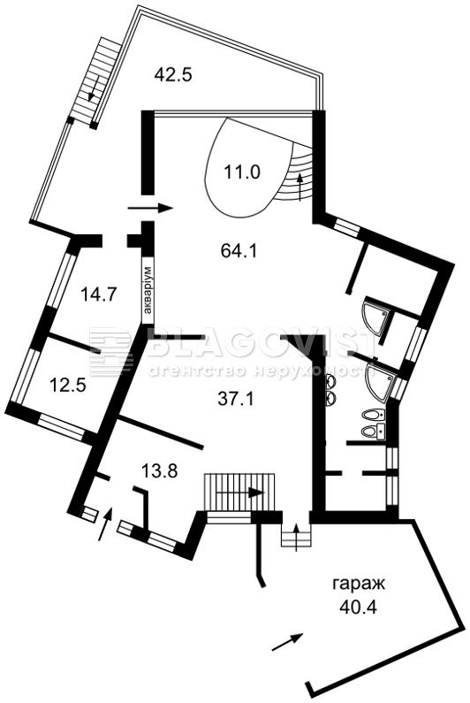 Будинок K-2965, Артезіанський пров., Київ - Фото 3