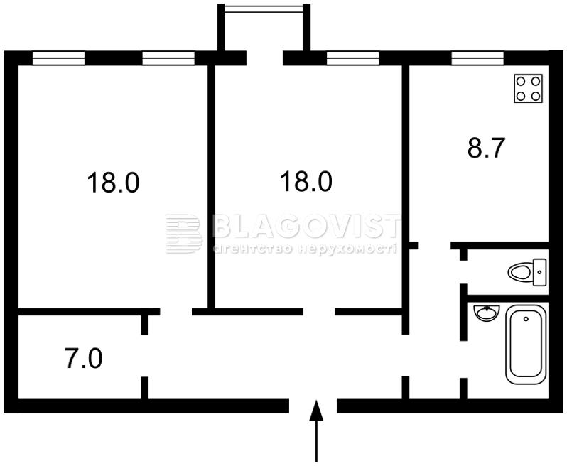 Квартира A-79909, Электриков, 30, Киев - Фото 4