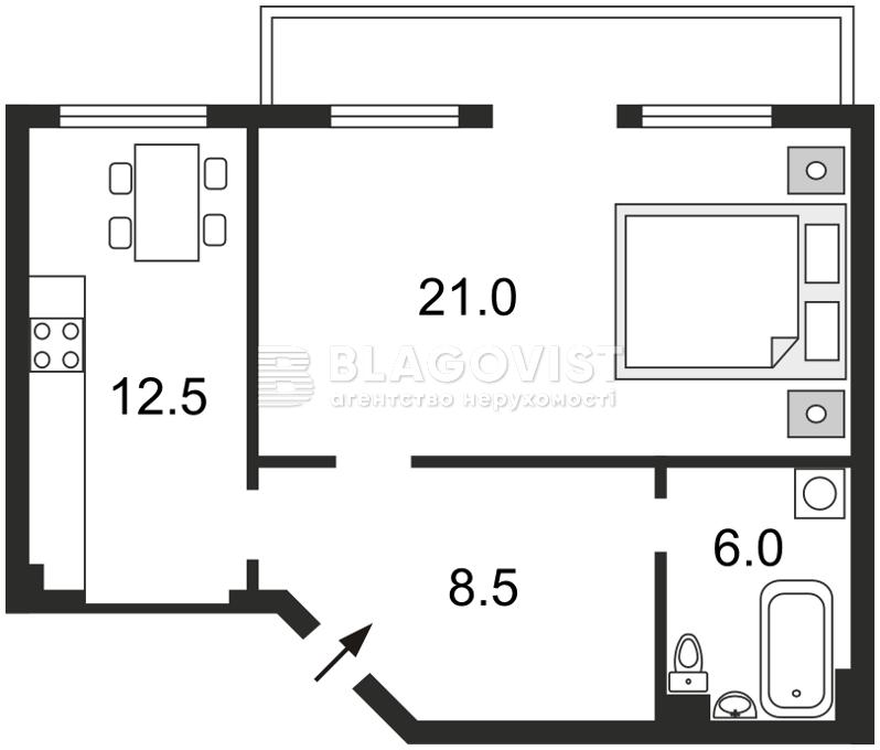 Квартира C-75761, Большая Житомирская, 6, Киев - Фото 6