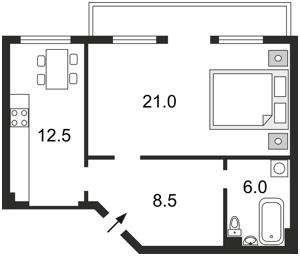 Квартира В.Житомирська, 6, Київ, C-75761 - Фото2