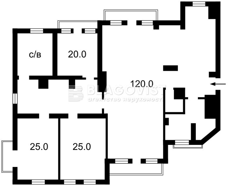Квартира Z-996208, Круглоуниверситетская, 14, Киев - Фото 4