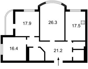Квартира Нежинская, 5, Киев, Z-1080671 - Фото2