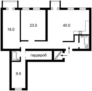 Квартира Пирогова, 4/26, Київ, F-19905 - Фото2