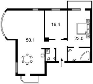 Apartment Proviantska (Tymofieievoi Hali), 3, Kyiv, O-12548 - Photo 2