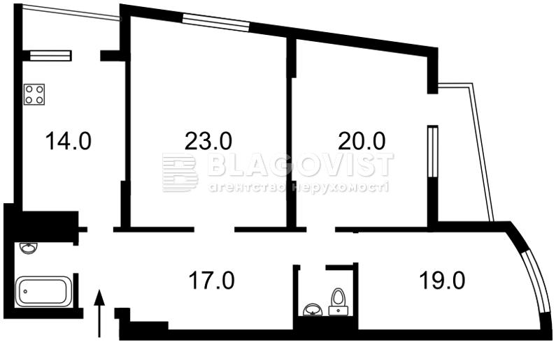 Квартира Z-1412280, Героев Сталинграда просп., 47а, Киев - Фото 6