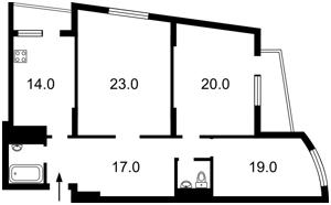 Квартира Героев Сталинграда просп., 47а, Киев, Z-1412280 - Фото2