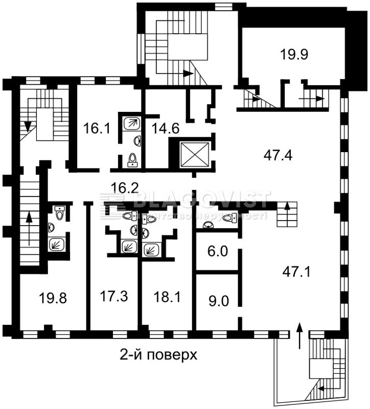 Гостиница, A-101445, Дружбы Народов бульв., Киев - Фото 12