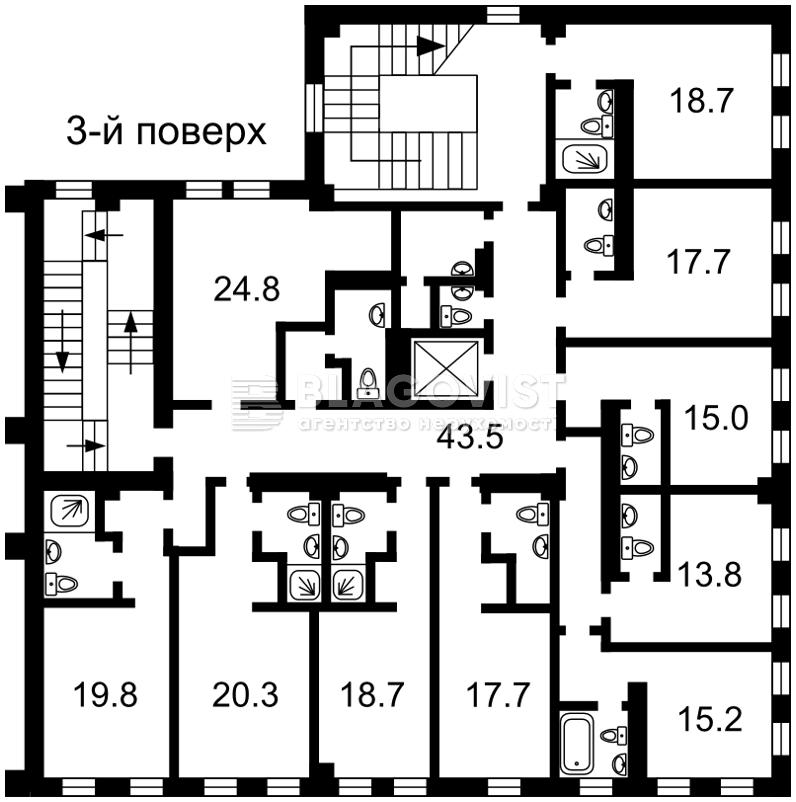 Готель, A-101445, Дружби Народів бул., Київ - Фото 12