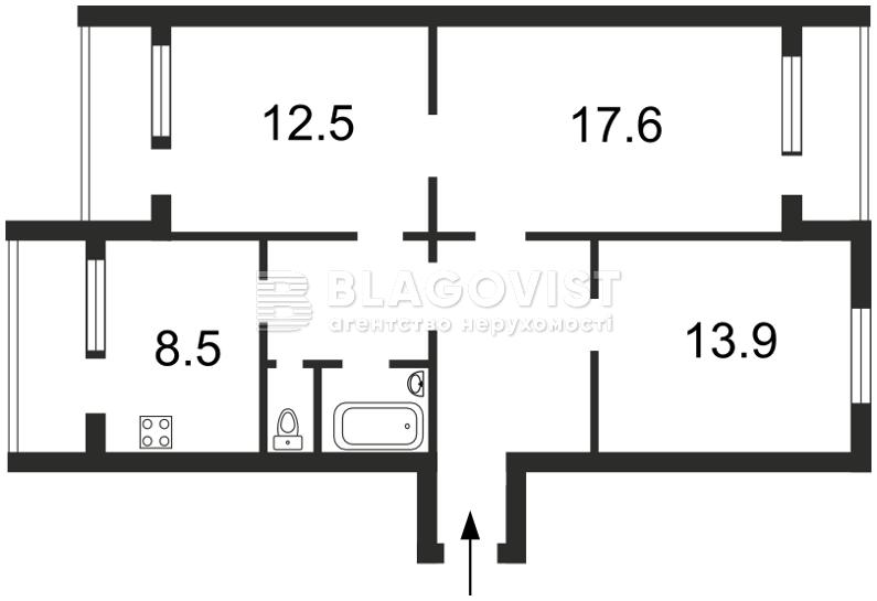 Квартира A-74364, Миропольская, 21, Киев - Фото 3