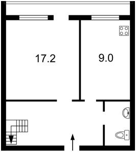 Квартира Ліфаря Сержа (Сабурова Олександра), 11а, Київ, Z-757322 - Фото2