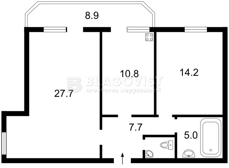 Квартира F-23904, Харченко Евгения (Ленина), 47б, Киев - Фото 3