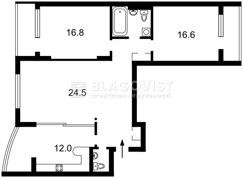 Квартира C-99846, Касияна Василия, 2/1, Киев - Фото 5