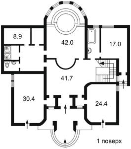Дом Козин (Конча-Заспа), X-30496 - Фото2