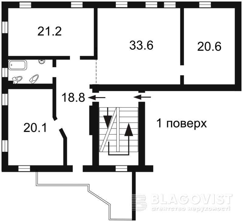 Будинок, H-32711, Білецького Академіка, Київ - Фото 1