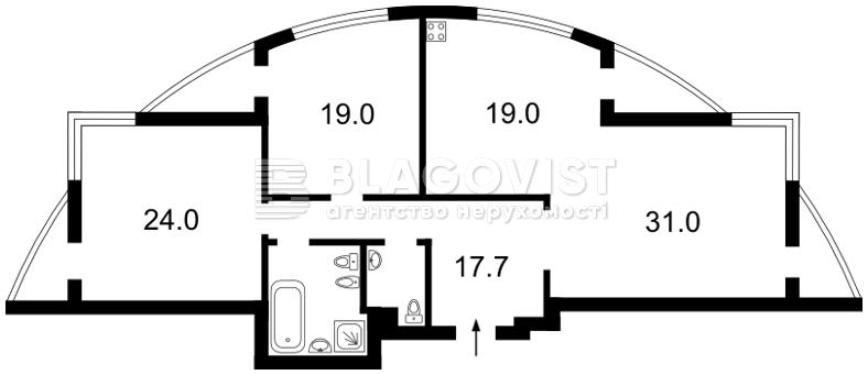 Квартира H-32925, Старонаводницкая, 6б, Киев - Фото 6