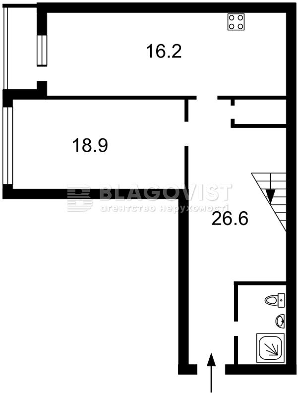 Квартира Z-1460852, Павловская, 17, Киев - Фото 4