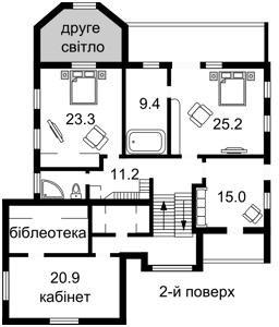 Дом Верхнегорская, Киев, Z-1467016 - Фото 4