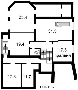Будинок Верхньогірська, Київ, Z-1467016 - Фото 2