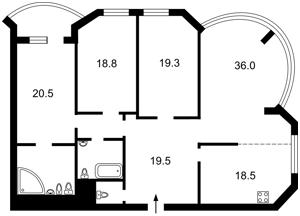 Квартира Тимошенко Маршала, 21 корпус 3, Киев, Z-642746 - Фото2
