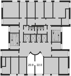 Нежилое помещение, Болсуновская (Струтинского Сергея), Киев, F-4336 - Фото 2