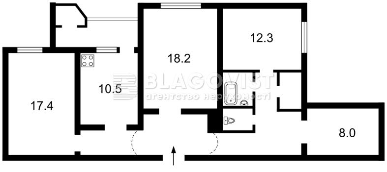 Квартира Z-1793109, Тимошенко Маршала, 18, Киев - Фото 7