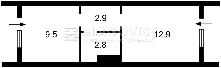 Нежилое помещение, H-33370, Кудряшова, Киев - Фото 3