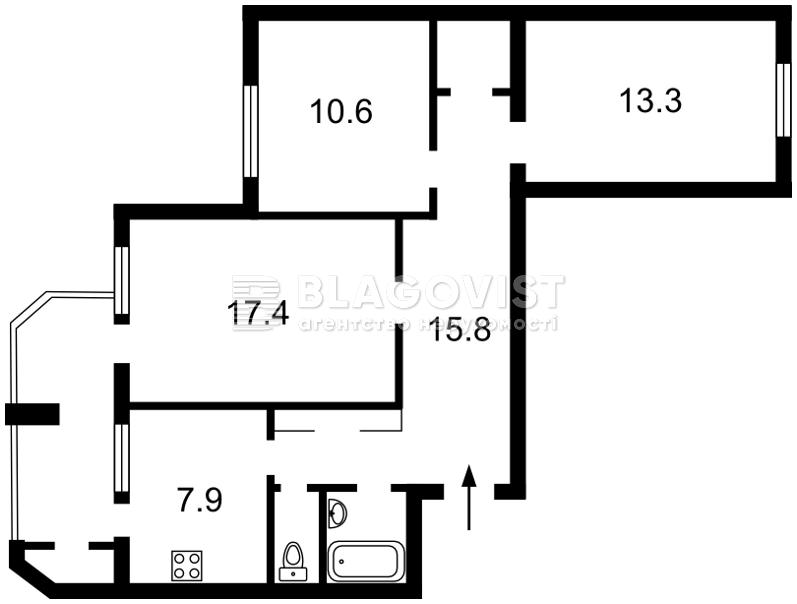 Квартира Q-851, Клавдіївська, 36, Київ - Фото 4