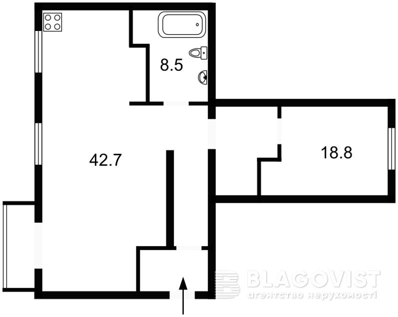 Квартира Z-1513202, Шевченко Тараса бульв., 6, Киев - Фото 5