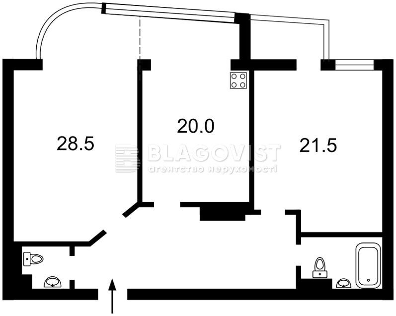 Квартира X-12191, Московская, 46/2, Киев - Фото 4