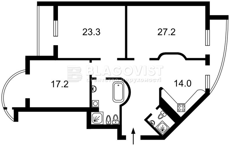 Квартира C-94218, Леси Украинки бульв., 7б, Киев - Фото 6